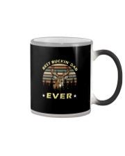 Best Buckin' Dad Ever Vintage T-shirt Color Changing Mug thumbnail