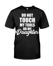 Mechanic Daughter Gift Fathers Day Shirts Classic T-Shirt front