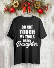 Mechanic Daughter Gift Fathers Day Shirts Classic T-Shirt lifestyle-holiday-crewneck-front-2
