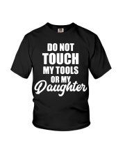 Mechanic Daughter Gift Fathers Day Shirts Youth T-Shirt thumbnail