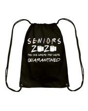 Seniors 2020 Toilet Paper Quarantined T-Shirt Drawstring Bag thumbnail