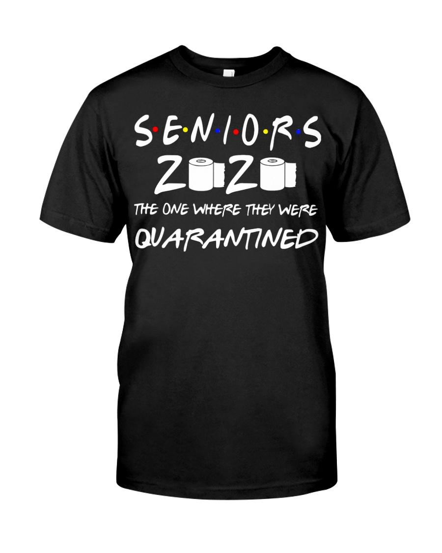 Seniors 2020 Toilet Paper Quarantined T-Shirt Classic T-Shirt