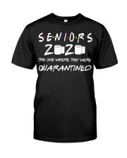 Seniors 2020 Toilet Paper Quarantined T-Shirt Classic T-Shirt front