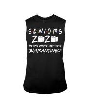 Seniors 2020 Toilet Paper Quarantined T-Shirt Sleeveless Tee thumbnail