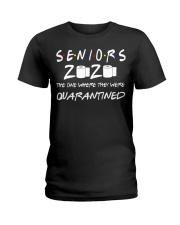 Seniors 2020 Toilet Paper Quarantined T-Shirt Ladies T-Shirt thumbnail