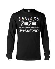 Seniors 2020 Toilet Paper Quarantined T-Shirt Long Sleeve Tee thumbnail