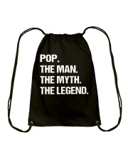 POP THE MAN MYTH LEGEND Shirt Drawstring Bag tile