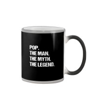 POP THE MAN MYTH LEGEND Shirt Color Changing Mug thumbnail