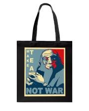 Anime Avatar Iroh - Make Tea Not War T-Shirt Tote Bag thumbnail