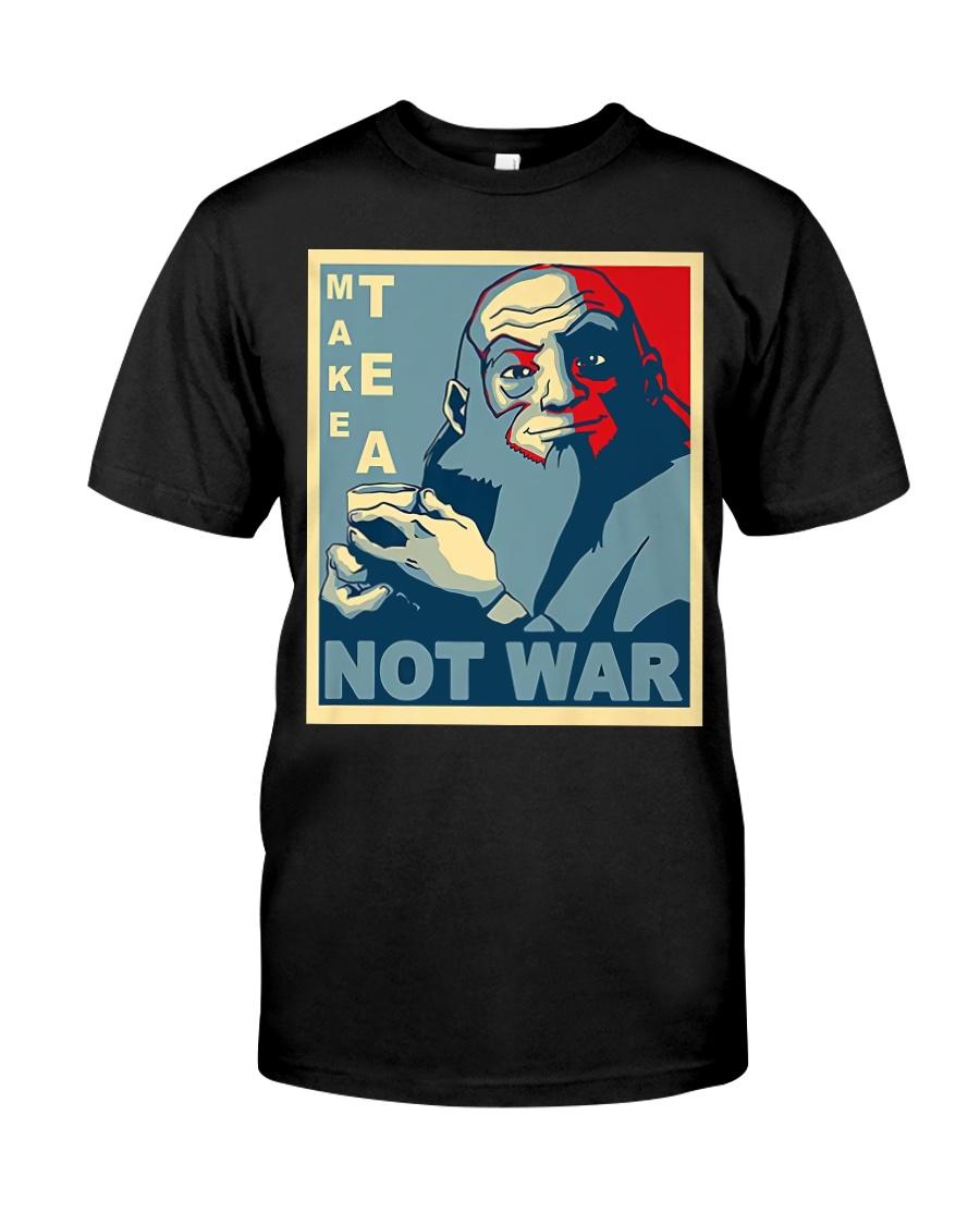 Anime Avatar Iroh - Make Tea Not War T-Shirt Classic T-Shirt