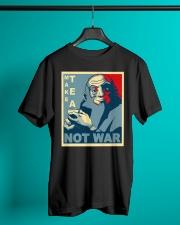 Anime Avatar Iroh - Make Tea Not War T-Shirt Classic T-Shirt lifestyle-mens-crewneck-front-3