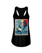 Anime Avatar Iroh - Make Tea Not War T-Shirt Ladies Flowy Tank thumbnail