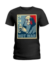 Anime Avatar Iroh - Make Tea Not War T-Shirt Ladies T-Shirt thumbnail