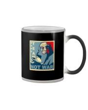 Anime Avatar Iroh - Make Tea Not War T-Shirt Color Changing Mug thumbnail