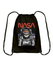 NASA Astronaut Moon Reflection  T-Shirt Drawstring Bag thumbnail