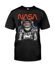 NASA Astronaut Moon Reflection  T-Shirt Classic T-Shirt front