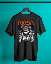 NASA Astronaut Moon Reflection  T-Shirt Classic T-Shirt lifestyle-mens-crewneck-front-3