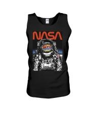 NASA Astronaut Moon Reflection  T-Shirt Unisex Tank thumbnail