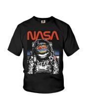NASA Astronaut Moon Reflection  T-Shirt Youth T-Shirt thumbnail