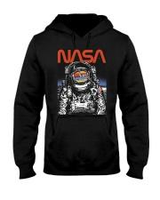 NASA Astronaut Moon Reflection  T-Shirt Hooded Sweatshirt thumbnail