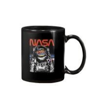 NASA Astronaut Moon Reflection  T-Shirt Mug thumbnail