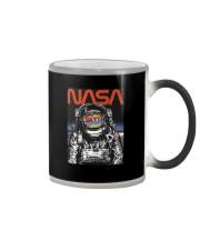 NASA Astronaut Moon Reflection  T-Shirt Color Changing Mug thumbnail