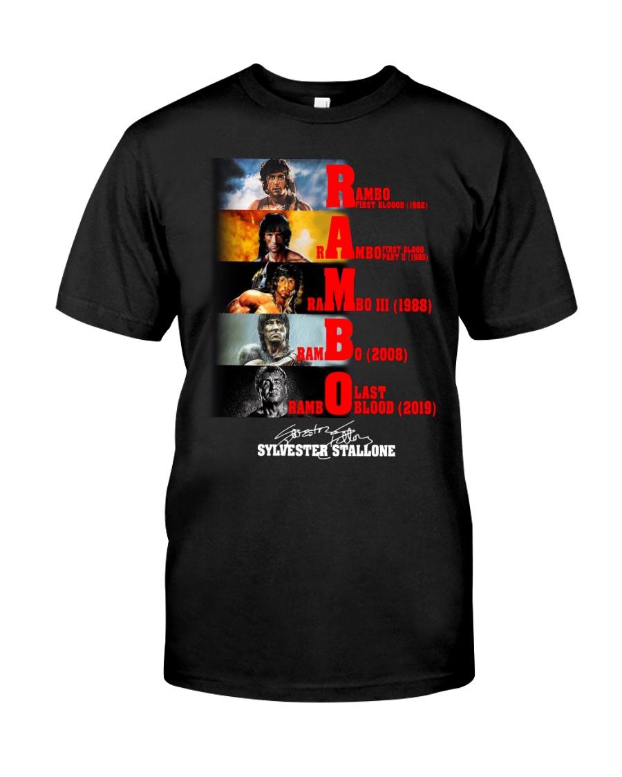 Rambo Film T-Shirt Classic T-Shirt
