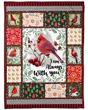 "Cardinal Large Fleece Blanket - 60"" x 80"" front"