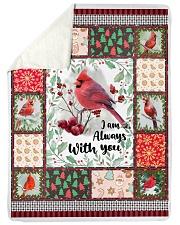 "Cardinal Large Sherpa Fleece Blanket - 60"" x 80"" thumbnail"
