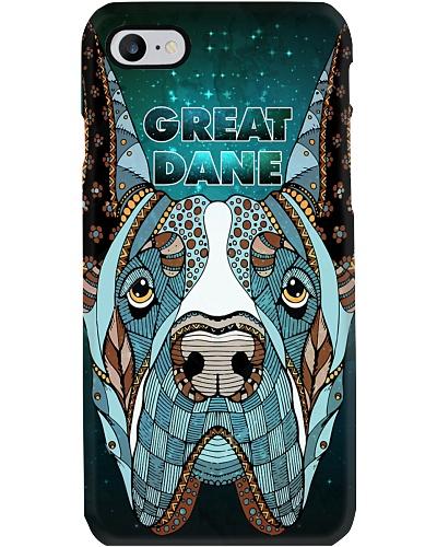 Great Dane Face Art T2