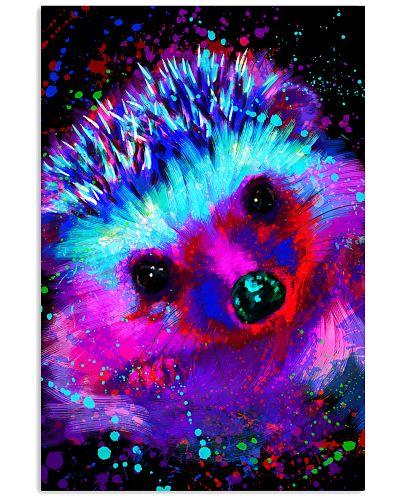 Hedgehog Water Color Art Z3