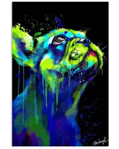 French bulldog Water Color Art W2