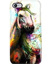 Horse Water Color Art P3 Phone Case thumbnail