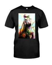 Horse Water Color Art P3 Classic T-Shirt thumbnail