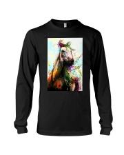 Horse Water Color Art P3 Long Sleeve Tee thumbnail