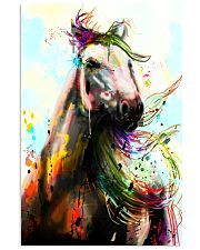 Horse Water Color Art P3 24x36 Poster front