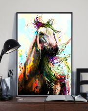 Horse Water Color Art P3 24x36 Poster lifestyle-poster-2