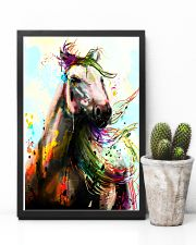 Horse Water Color Art P3 24x36 Poster lifestyle-poster-8