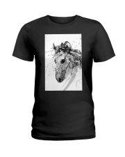 Horse Unique Art G2 Ladies T-Shirt tile