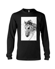 Horse Unique Art G2 Long Sleeve Tee thumbnail