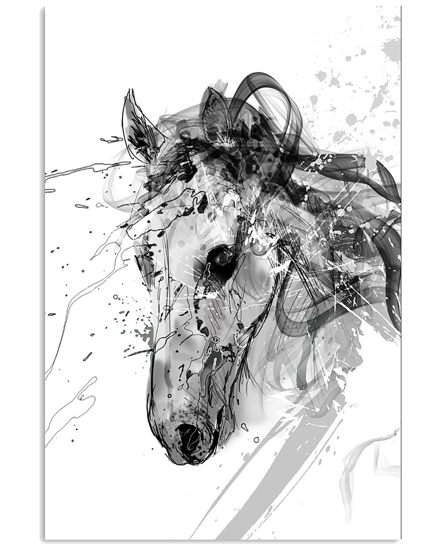 Horse Unique Art G2 24x36 Poster