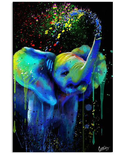 Elephant Poster Splash R1