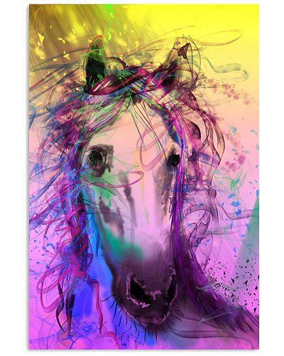 Horse Water Color Art V234