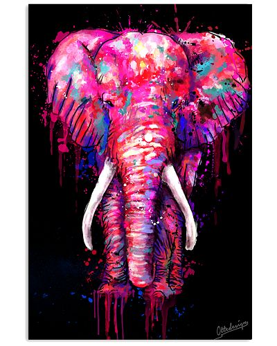 Elephant Poster Full Color E1