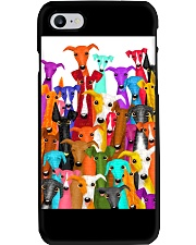 Greyhound Multi-dog A10 Phone Case i-phone-7-case