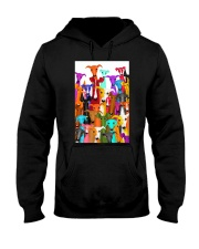Greyhound Multi-dog A10 Hooded Sweatshirt thumbnail