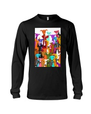 Greyhound Multi-dog A10 Long Sleeve Tee thumbnail