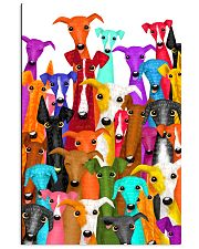 Greyhound Multi-dog A10 11x17 Poster thumbnail