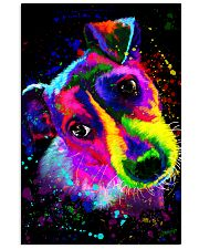 Jack Russell Water Color Art Splash ZX78 11x17 Poster front