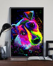 Jack Russell Water Color Art Splash ZX78 11x17 Poster lifestyle-poster-2